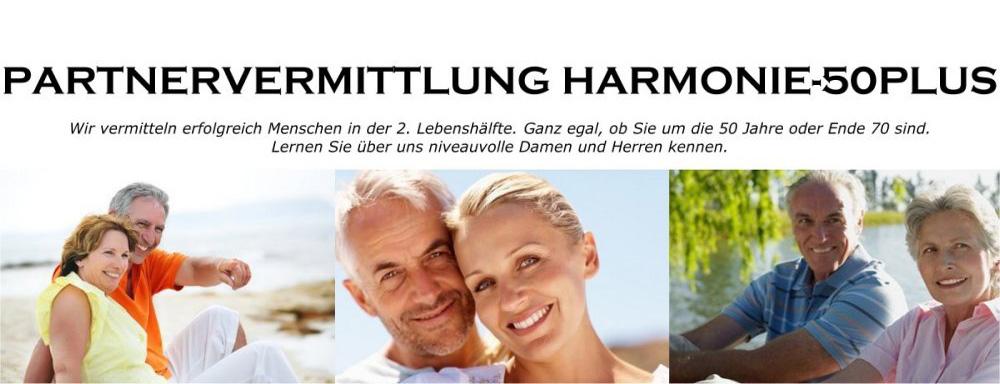 Partnervermittlung harmonie 50plus